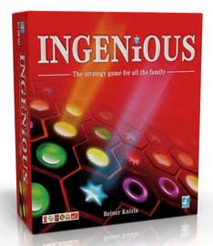 Ingenious board game £15 @ Amazon. Unplug for some of Christmas!