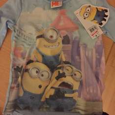 Girls Minion Top £1 @ Tesco