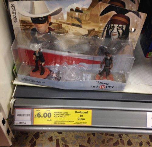Infinity lone ranger playset pack multi £6.00 @ Tesco instore