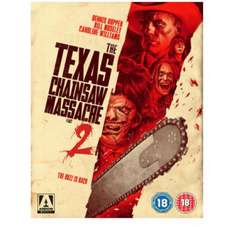 Texas chainsaw massacre 2 limited edition 3 disc blu ray £9.99- ARROW FILMS