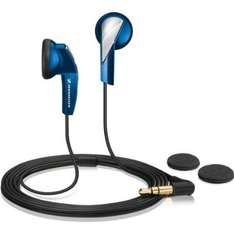 Sennheiser MX 365 In Ear Portable Media Players Headphones - Blue £9.99 @ Amazon