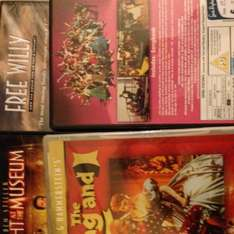 Dvd new or old 95p each @  Sue Ryder, Lee Green (London)