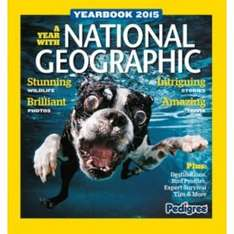 National Geographic 2015 Yearbook. £4.99  at Argos.