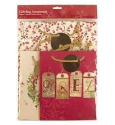 3 packs of 3 giftbags for the price of 1 at boots £5 (total 9 giftbags)