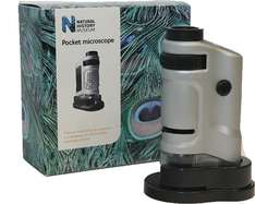 Natural History Museum Pocket Microscope £6.66 @ Amazon   (free delivery £10 spend/prime)