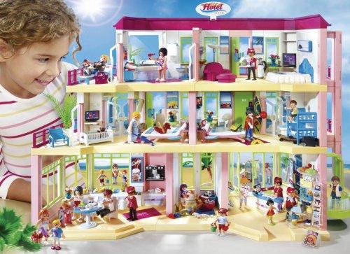Playmobil Summer Fun 5265 Large Furnished Hotel Amazon £40.00