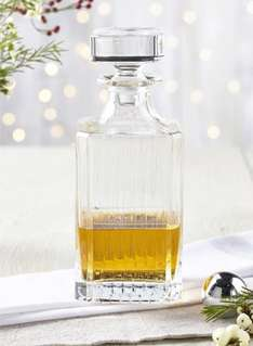 Crystal decanter from BHS £15