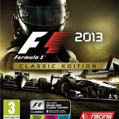 £2 for F1 2013 classic edition PS3 only on game.co.uk