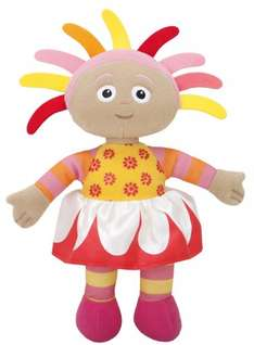 In the Night Garden Upsy Daisy talking soft toy, £5.99 - Add on (spend £10 free delivery) @ Amazon, More options see below