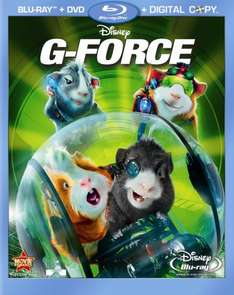 G-force (2009) BLU-RAY (triple play) £2 at game