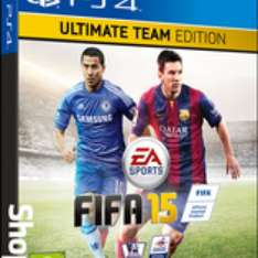 FIFA 15 Ultimate Team Edition PS4 £49.85 delivered at Shopto