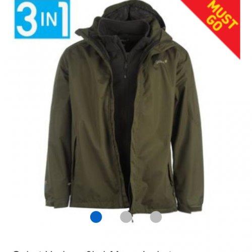 Gelert Horizon 3in1 jacket  £25 + £3.99 from Sports Direct