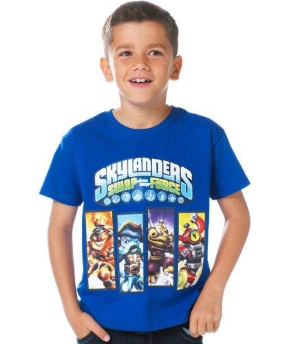 Skylanders Boys' Blue SwapForce T-Shirt £2.49 at Argos