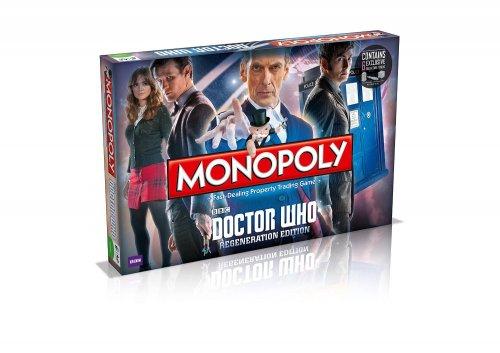 Dr Who Monopoly £20 @ Amazon