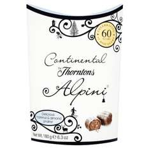 £2 (was £3.50) Thorntons Continental 180g ALPINI / VIENNESE @ TESCO