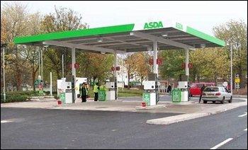 Asda Petrol down to £1.10 on Thursday