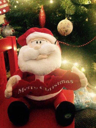Merry Little Christmas Singing Santa £4.50 @ Sainsburys