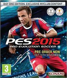 Pro Evolution Soccer 2015 Day One Edition (Xbox One) £26.48 @ Amazon