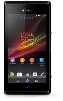 Sony Xperia M SIM-Free Smartphone - Black (Android) - £64.95 delivered from Amazon