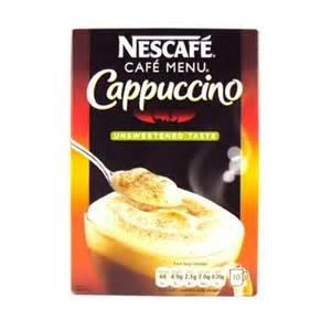 Nescafé cappucino boxes HALF PRICE  £1.59 co-op