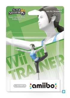 Wii Fit Trainer Amiibo £10, Villager £12.99 @ Amazon