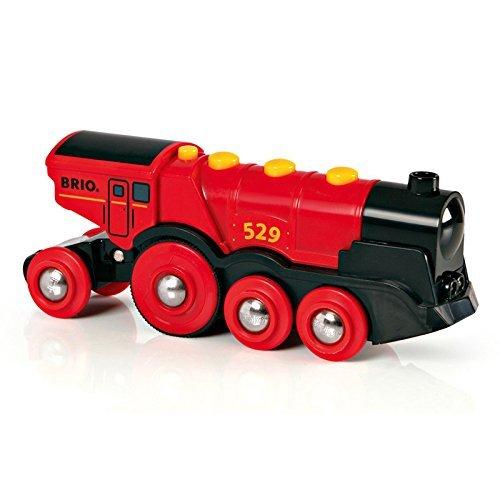BRIO 33592 Mighty Red Action Motorized Locomotive £10.43 @ Amazon