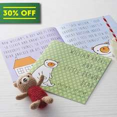 Personalised Child's Story Book WAS £17.70 NOW £12.47 inc del @ not on the high street