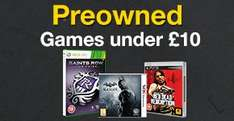 PS3 & Xbox 360 Preowned Games - £1.49 - £2.99 @ GAME - Stocking fillers?