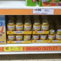 Bebivita Baby Food reduced to clear 17p in Tescos