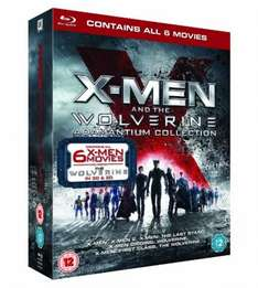 X-Men And The Wolverine Adamantium Collection [Blu-ray 3D + Blu-ray] [2013] £17.50 @ AMAZON