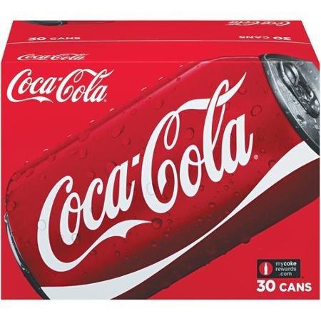 30 pack coca cola £5.98 @ Costco Less than 20p per can!