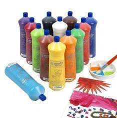 Scola Artmix Ready Mix Coloured Paint 12 x 600m (Pack of 12) £11.33 @ amazon