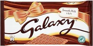 Galaxy Smooth Milk Chocolate (390g) just £2 @ Sainsburys