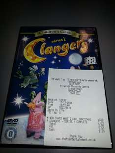 Clangers Complete Series 1 £2.99 (Instore at ThatsEntertainment)