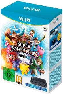 Smash Bros Wii U with Gamecube Adapter In Stock for Christmas Delivery £57 Delivered @ Amazon France