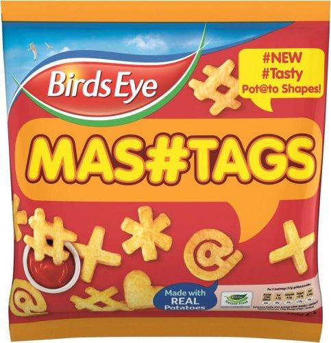 Birds Eye Mashtags (456g) was  £1.80 now £1.00 @ Sainsbury's