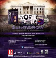Saints Row IV: Super Dangerous Wub Wub Edition - Xbox 360 / PS3 - £21.99 @ GAME