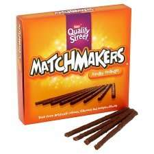 Quality Street Matchmakers Orange, Mint, Honeycomb Chocolate Box 130G  £1.00 @ tesco from 18th