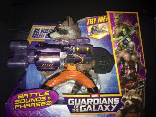 Guardians of the Galaxy big blastin rocket raccoon £9.99 @ Home Bargains