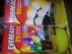 Eveready xmas lights now £2.99 @ B&M