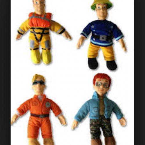 Fireman Sam plush toys small £1.50 B&M