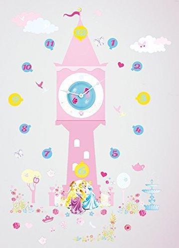 Disney Princess Clock Wall Sticker £9.99 Free Delivery @ Amazon (Lightning Deal)