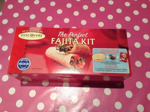 DISCOVERY fajita kit - £1 in store B&M