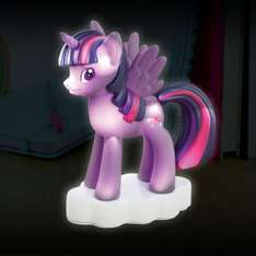 My Little Pony - Twilight Sparkle Shaped Night Light £9.98 Delivered using code @ IWOOT