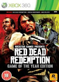 Red Dead Redemption GOTY (Microsoft Xbox 360) @ GAME £4.99 delivered PREOWNED