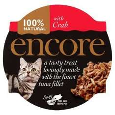 Encore cat food reduced from 89p to 60p INSTORE at Asda
