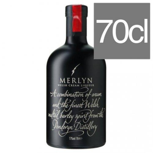 Merlyn Welsh Cream Liqueur 70Cl £10 @ Tesco