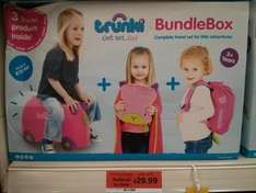 Trunki Bundle Box reduced to clear £29.99  instore at Sainsbury's Gloucester Road London
