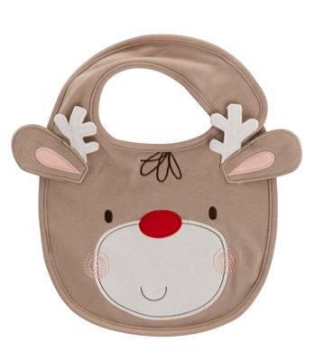 Kiddicare Christmas Reindeer Bib HALF PRICE @ £1.99 (was £3.99)