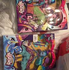 My little pony equestria girls Trixie Lula moon or sonata dusk and Aria blaze double pack £6.99 @ home bargains